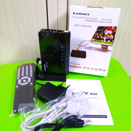 Foto Produk FM LCD TV BOX 5830 Gadmei =LCD 5821 dari dnmlocker