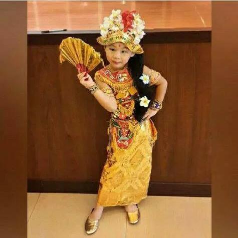 Foto Produk Pakaian adat bali penari baju untuk anak perempuan dari FAUZAN GHIFFARY SHOP