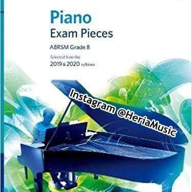 Foto Produk Piano Exam Pieces Grade 8 ABRSM with CD 2019 & 2020 dari HERIA MUSIC