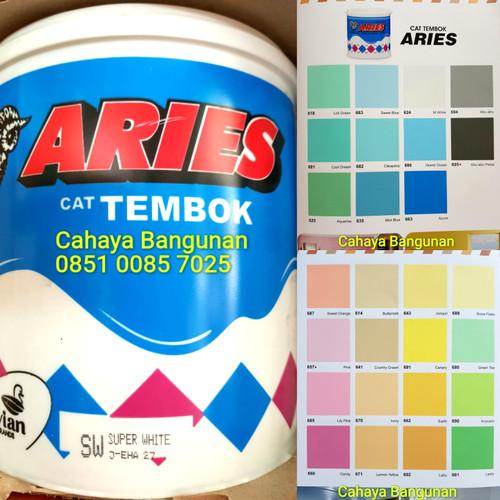 Foto Produk Avian ARIES Avitex Cat Tembok Plafon Warna Kaleng Galon 5Kg 5 Kg Murah dari Cahaya Bangunan
