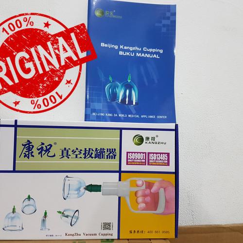 Foto Produk Kop / Alat Bekam Kang zhu isi 12 / Kangzhu 12 / Kz 12 dari Yulia Putri Grosir Murah