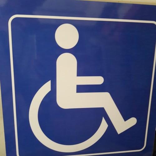 Foto Produk Jual Sign / Lambang Kursi Roda dari Syafana