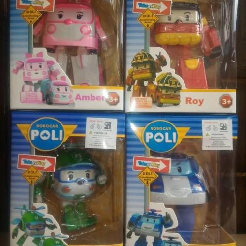 Foto Produk Termurah Mainan Edukasi Robocar Poli Bisa Berubah Jadi Robot Mobil dari hp_shop