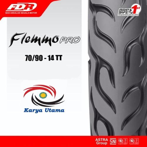 Foto Produk Ban Luar Motor Matic Federal FDR 70/90-14 250-14 70/90 250 70 Ring 14 dari Karya Utama shop