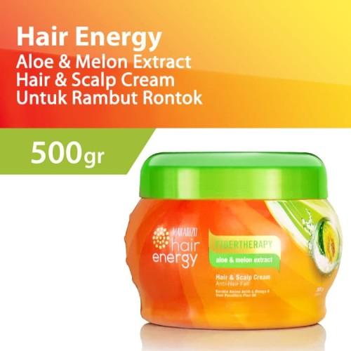 Foto Produk Makarizo Hair Energy Fiberteraphy Aloe Melon 500Gr dari Madusons Salon Supplier