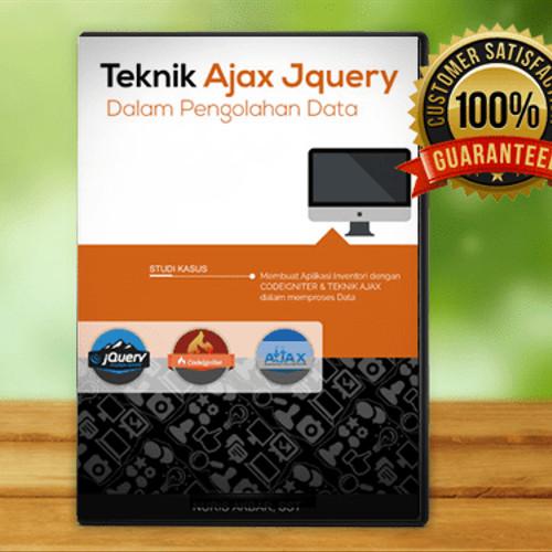 Foto Produk DVD Tutorial Membuat Aplikasi Dengan Codeigniter, Javascript Dan Ajax dari warung belajar
