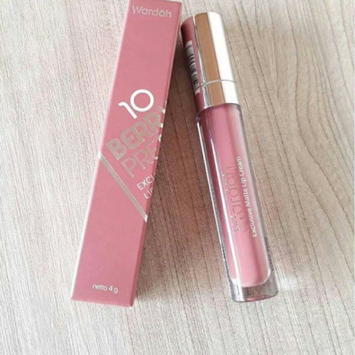 Foto Produk Wardah Exclusive Matte Lip Cream 10 Berry Pretty dari oen.shop