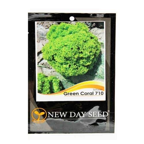Foto Produk Benih New Day Seed Selada Green Coral – 0.5 Gram dari BB Seed