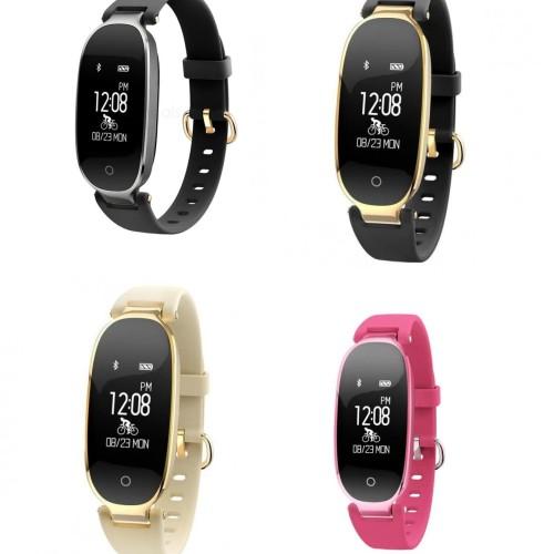 Foto Produk S3 Fashion Bluetooth Smart Band Bracelet Heart Rate Monitor - OLB3075 dari Jelambarshop71