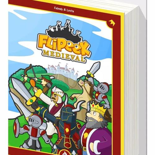 Foto Produk Flipeek : Medieval/ memory card game / mini board game / party game dari Party Game Seru