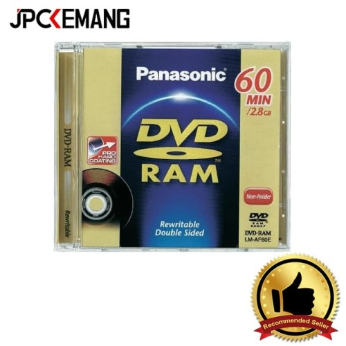 Foto Produk Panasonic LM-AF60E DVD-RAM 60 min dari JPCKemang