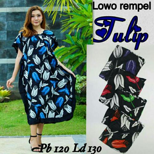 Foto Produk Daster jumbo batik pekalongan / baju hamil / daster lowo / daster dari RisqianaBatik