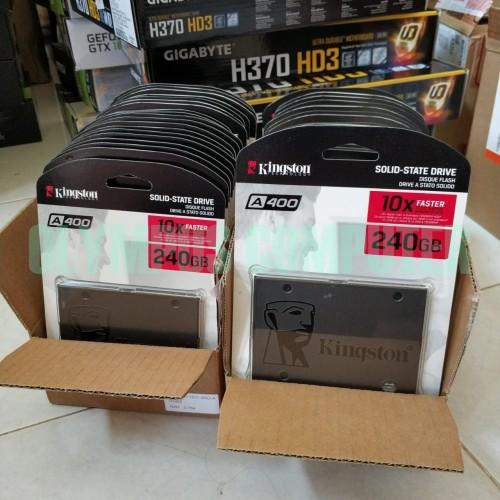 Foto Produk Kingston A400 240GB SSD - SSD A400 dari OLYMPUS COMPUTER