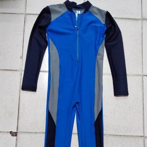 Foto Produk Baju Renang Diving Biru Anak Laki laki TK - SD - SMP dari Angeline Collections