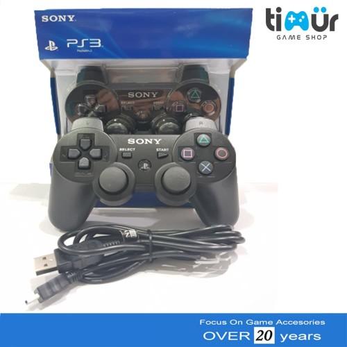 Foto Produk Stik PS3 wirelles Original + Charger dari Timur Game Shop