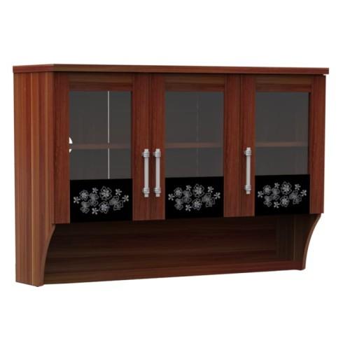 Foto Produk SUPER Kitchen Set Atas Lemari Rak Dapur Tiga Pintu KSA 831 dari Super Furniture Online