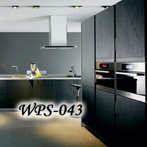 Foto Produk WPS043 BLACK WOOD URAT KAYU HITAM WALLPAPER STICKER WAL PAPER DINDING dari methwallsticker