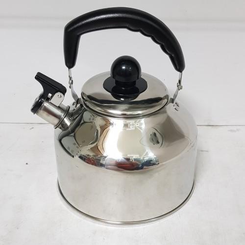 Foto Produk Whistling Kettle / Teko Ceret Stainless Imperial 4 Liter dari Damian's Kitchen