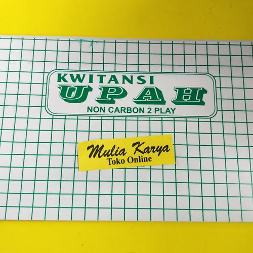 Foto Produk Buku Kwitansi Upah 2 ply / Buku Slip Gaji dari MULIA KARYA