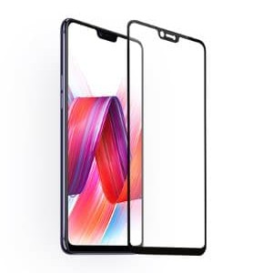 Foto Produk Tempered Glass Full 3D Vivo V9 /Anti Gores Kaca Curved Warna - Hitam dari NYATACELL