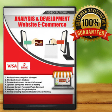 Foto Produk VIDEO TUTORIAL ANALISYS DAN DEVELOPMENT WEBSITE E-COMMERCE dari warung belajar