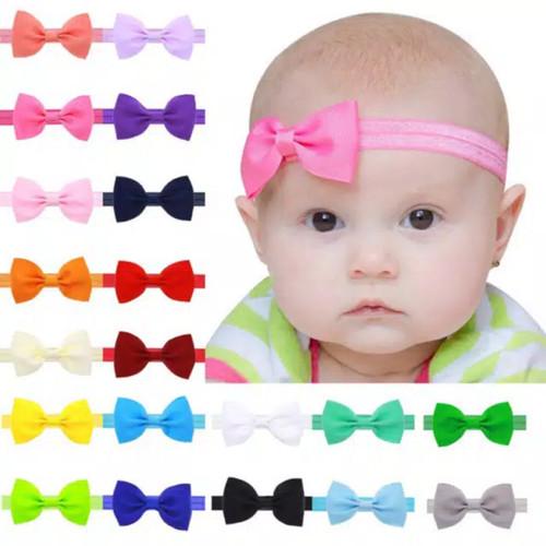 Foto Produk Bando Bayi / Bandana Bayi / Headband Bayi Imut dari M&K ( Mom & Kids)