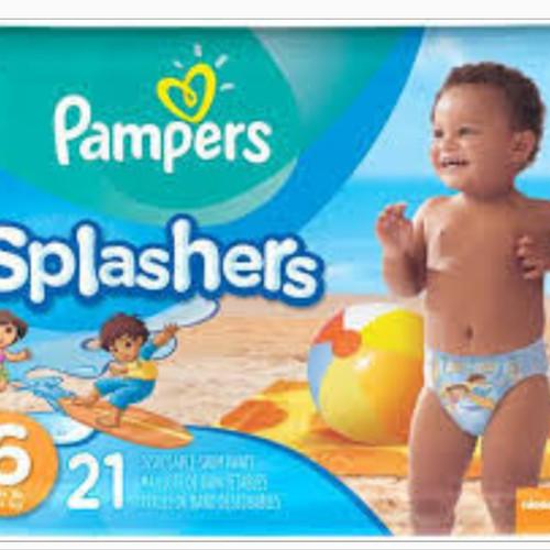 Foto Produk Pampers splashers size 6 splasher swim diaper popok renang (harga/pcs) dari Baby Ananta