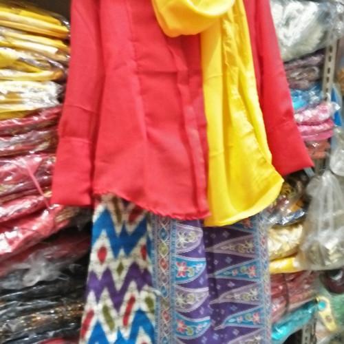 Foto Produk Baju adat betawi // setelan // kebaya none betawi size L dari Irwan busana