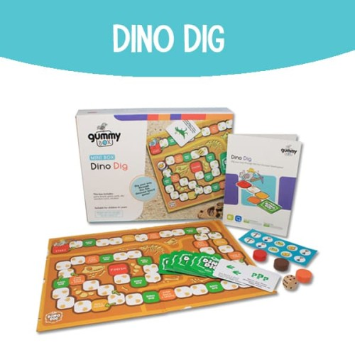 Foto Produk Dino Dig | GummyBox dari GummyBox