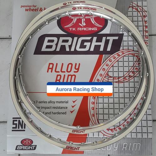 Foto Produk Velg TK Bright Set 17 x 120 - 140 warna Silver dari auroraracingshop