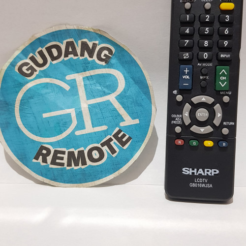 Foto Produk Remote Remot TV Sharp LCD LED Grade Original dari gudang remot