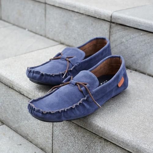Foto Produk ALLAND BLUE Sepatu Casual Pria Biru dari RAY STORE ID