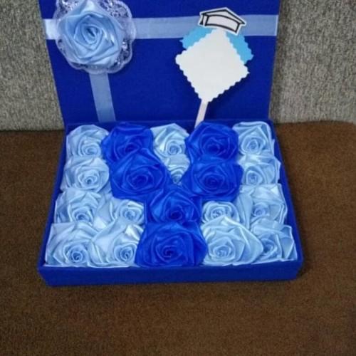 Foto Produk bunga box hadia wisuda sidang valentine ultah kado handmade dari putria-