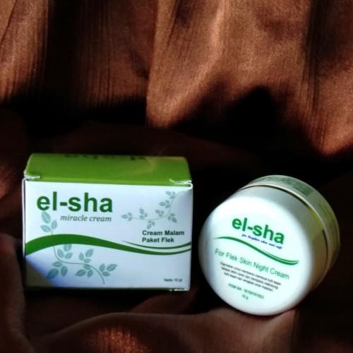 Foto Produk ELSHA Cream night FLEK Original dari el-sha miracle cream