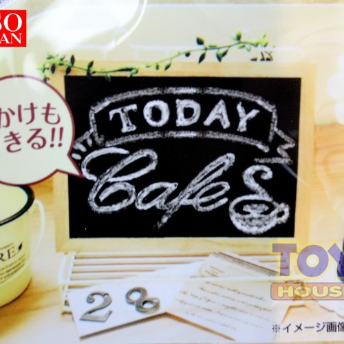 Foto Produk DAISO Framed Blackboard - Papan Note Kecil dari toy house