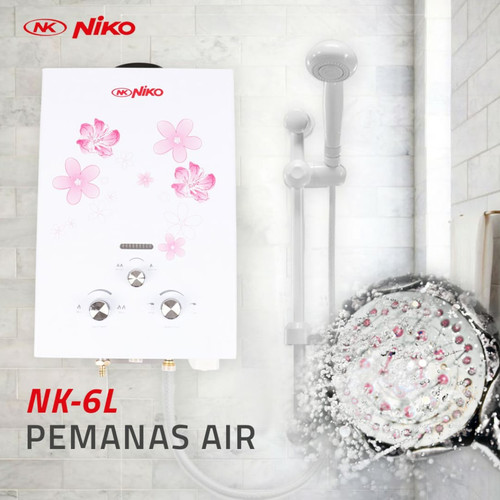 Jual Water Heater Pemanas Air Niko Gas Nk 6 L Kab Jombang M Elektrik Tokopedia
