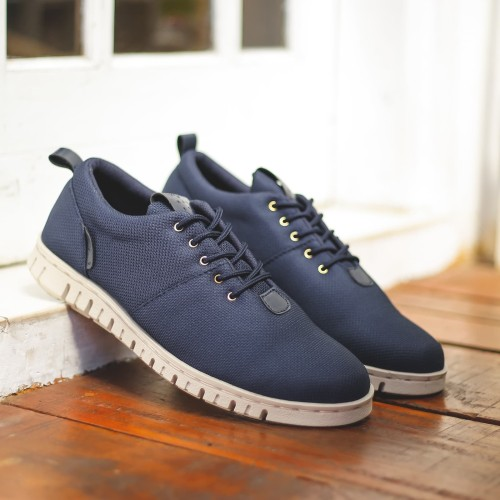Foto Produk Murah | POWELL BLUE - Sepatu Casual Pria (Biru) dari RAY STORE ID