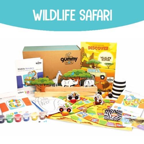 Foto Produk Wildlife Safari | GummyBox dari GummyBox