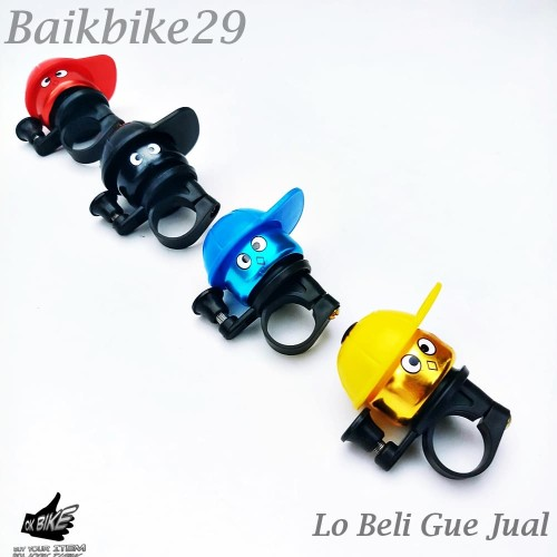 Foto Produk Bel SepedaTopi Nyaring Aneka Warna dari baikbike29