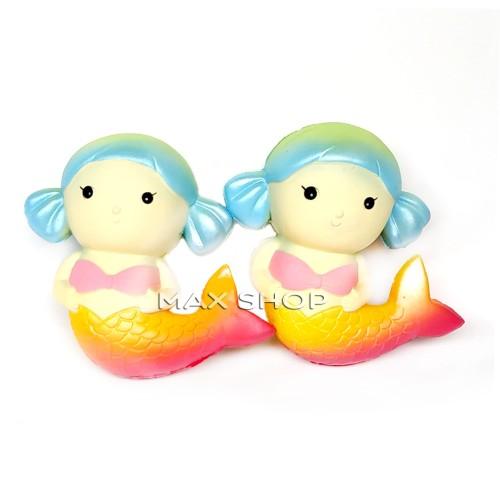 Foto Produk Squishy Murah Galaxy Rainbow Princess Mermaid Medium - Mainan Anak dari MAXSHOP-ONLINE
