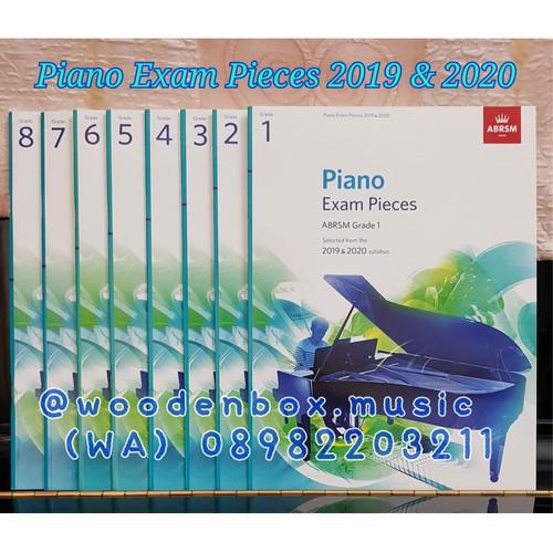 Foto Produk Piano Exam Pieces 2019 & 2020 Grade 6 ABRSM buku ujian royal dari WoodenBox