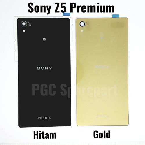Foto Produk Backdoor ORI Sony Xperia Z5 Premium E6853 E6883 SO-03H Casing Belakang - Perak dari PGC Sparepart