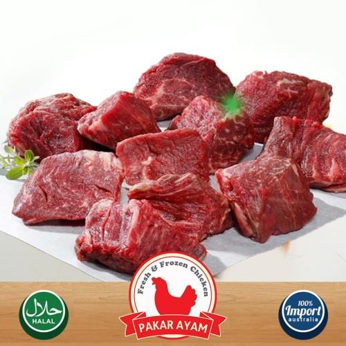 Foto Produk Daging Rendang Potongan Kemasan 250gr Kualitas Premiun dari Pakar Ayam