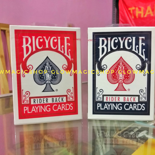 Foto Produk Bicycle Rider Back/kartu bicycle/bicycle standard dari Glow magicshop