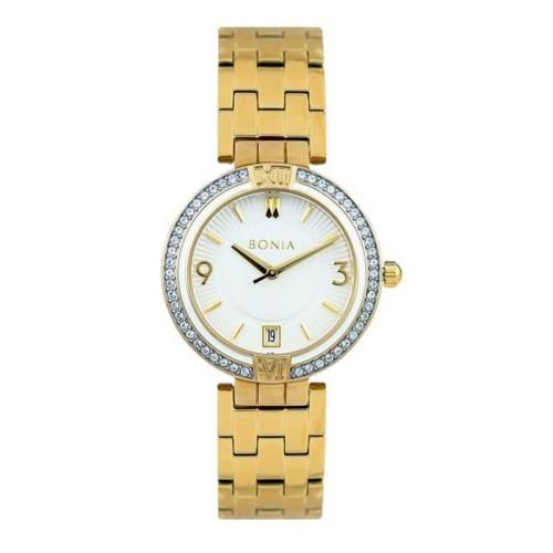 Foto Produk [original] Bonia B10194-2215 Jam Tangan Wanita Stainless Steel Gold dari Startime Official