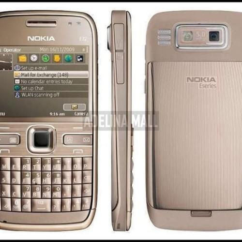 Foto Produk Nokia E72 Jadul - HP Jadul Nokia Murah Atasnya Nokia E71 - Garansi dari TOKO BROWS