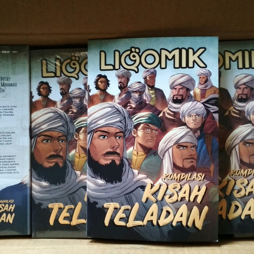 Foto Produk Komik Islami - LIQOMIK 2 Kompilasi Kisah Teladan - Best Seller dari Anak Fiskus (NAFIS)