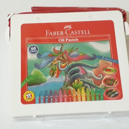 Foto Produk Crayon Hexagonal Oil Faber Castell 60 warna dari asooy stationary
