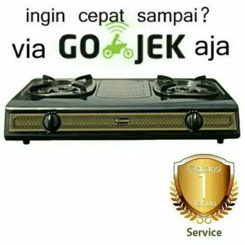 Foto Produk Rinnai Kompor Gas RI-522S (2 Tungku). Baru Bergaransi Resmi dari Sinar Elektronik Jakarta