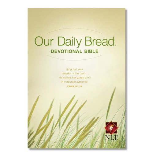 Foto Produk Bible/Alkitab: Our Daily Bread Devotional Bible - NLT dari Duta Harapan Dunia